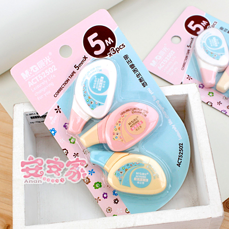 In the morning light fashion stationery 15m 3 correction tape f205