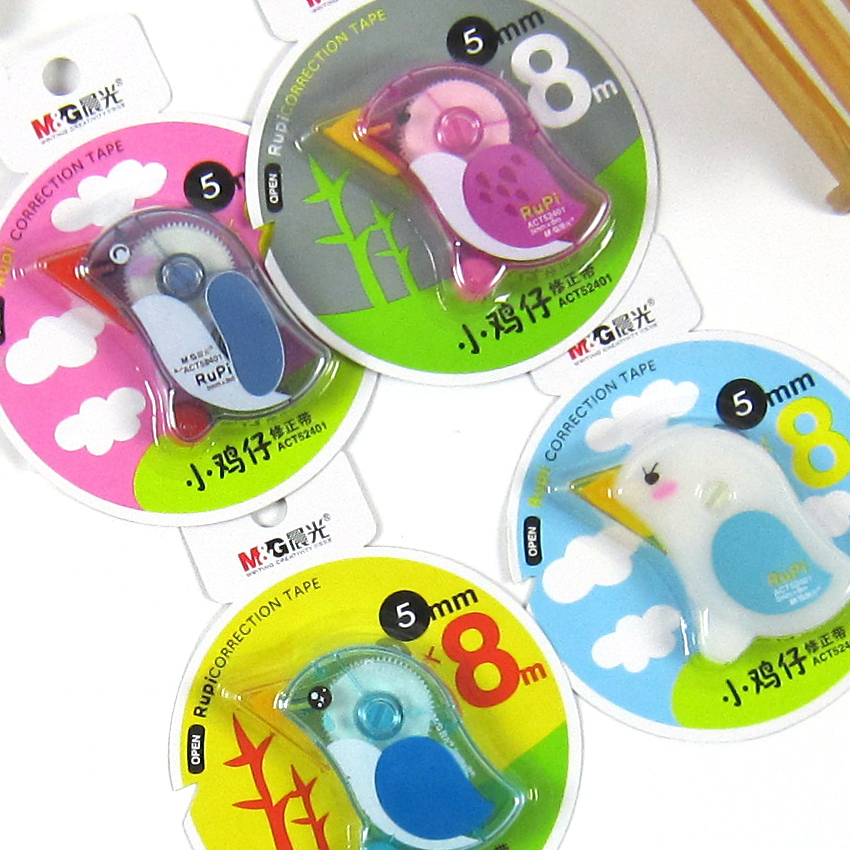 P012 chenguang act52401 chickens correction tape 5mm 8m