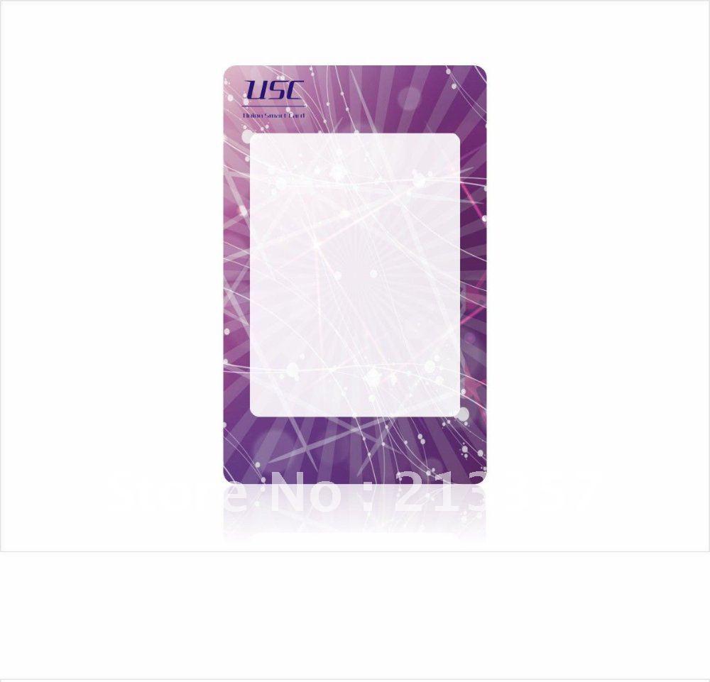 blank Visual card ,Thermal Rewritable Card