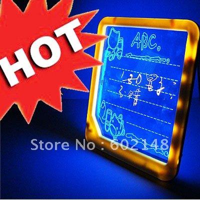 1Pcs/Lot Wholesales Free Shipping  whiteboard,memo board,notice board,LED writing board