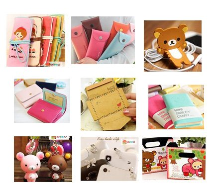 Mix order, Sticker, pen, memo pad, pu bag, , Lovely stationery, Free shipping(MX-40)