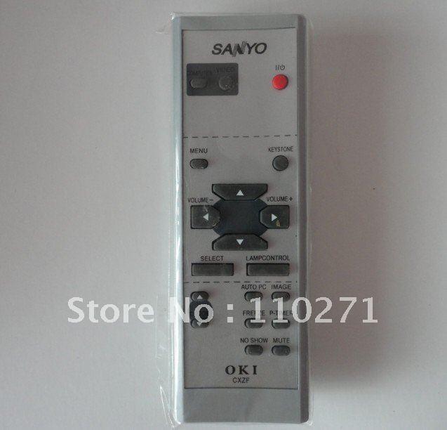 wholesale remote control  for SANYO  PLV-Z1/PLV-Z2/PLV-Z3/PLV-Z4/PLV-Z5/PLC-WXU10B/PLC-WXU700/PLC-XU9010