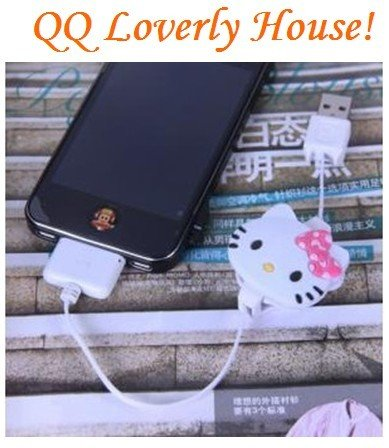 Free Shipping/Lovely catoon Iphone USB charger line/Apple USB charge wire,WJ010,Wholesale