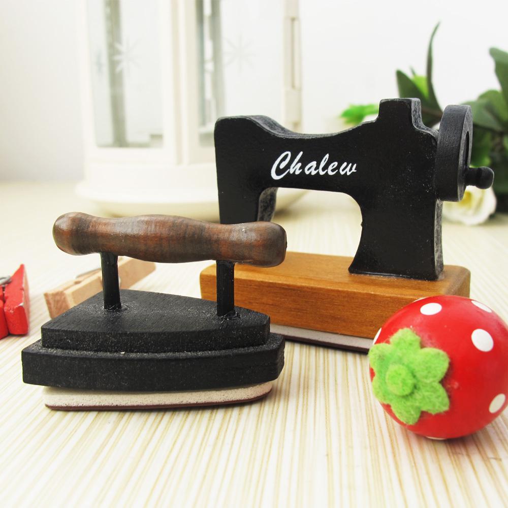 Umi wooden sewing machine flatheads stamp child cartoon stamp Free shipping