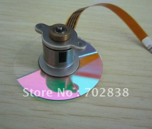 Projector original color wheel for the Mitsubishi MD350X/530X