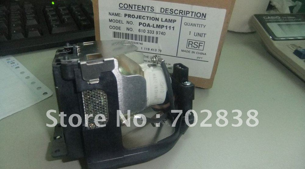 Projector lamp with housing POA-LMP111  fit for SanyoSanyo PLC-XU101/XU105/XU106/XU111/XU115/XU116 projector