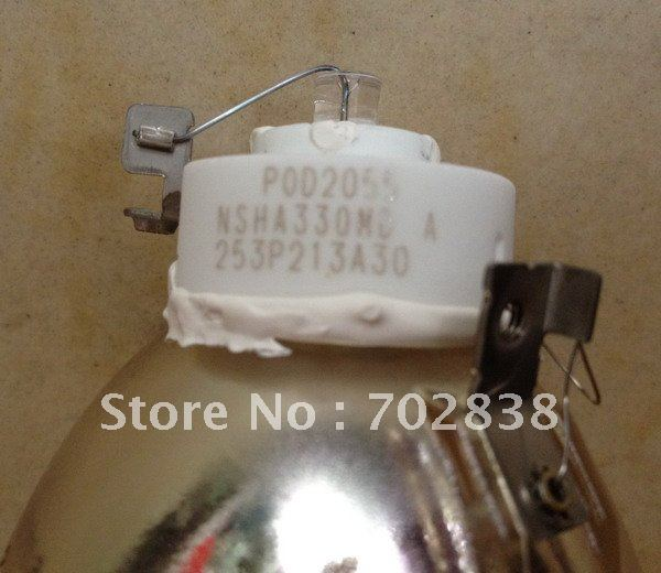 Genuine projector bare lamp VLT-XD8000LP for the projector of Mitsubishi XD8200U/UD8350/UD8400