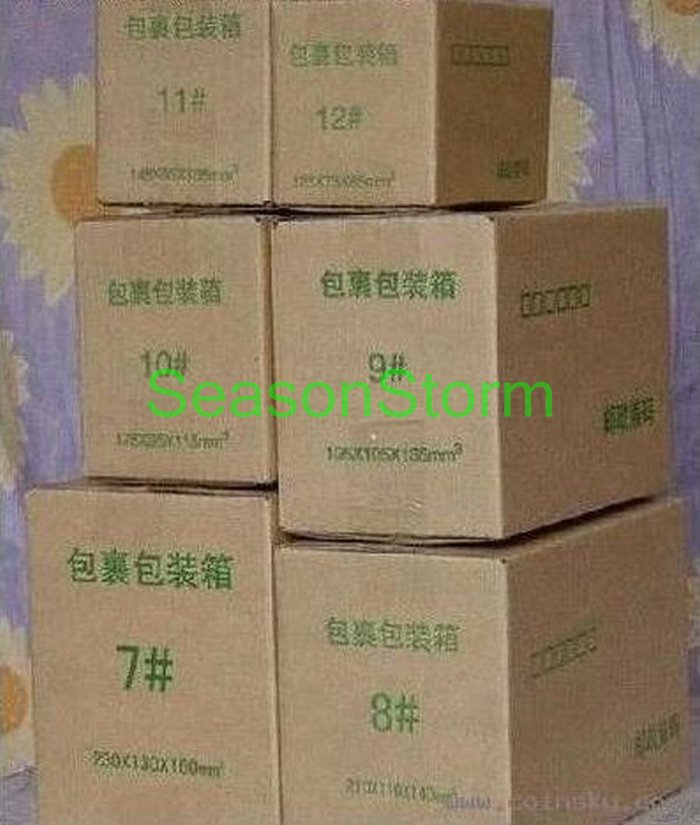 [CPA Free Shipping] Wholesale 26*15*18cm Three Layer Corrugated Paper Postal Box / Packing Paper Box 10pcs/lot (SD-47)