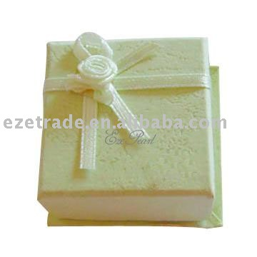 Paper Ring or Earrings Packing Box