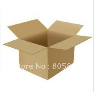 "50pcs 9.8X9.8X9.8"" inch Cube Shipping Packing Corrugated Boxes Carton"