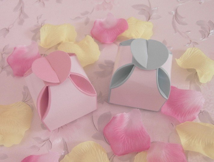 Free Shipping-factory price,100pcs/lot,Excellent Heart Design Wedding Favor Gift Box/High Quality Pearl Paper