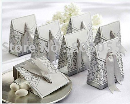 Newest DIY candy boxes wedding favor boxes gift boxes in 2 colors 200pcs/lot+Free shipping