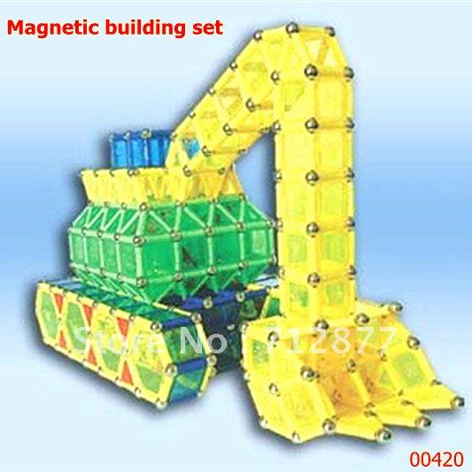 Magnetic construction toy 420pcs magnetic building blocks set Free shipping
