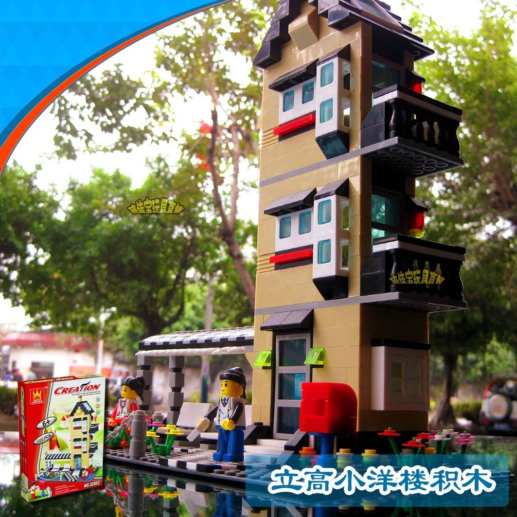 100%guarantee Legoland yakuchinone enlightenment toy insert blocks model residence 32053 free shipping