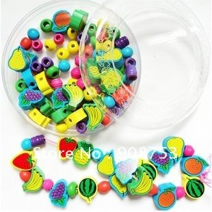 free shipping(12pcs/donze),Educational toys,Beaded blocks,String of beads,Woodiness beads,for infant