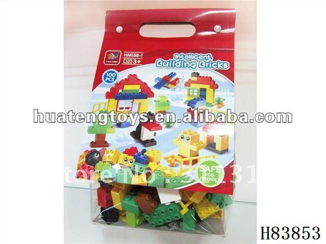 Best gift for kids 2012 plastic building block toy 100 pcs H83853