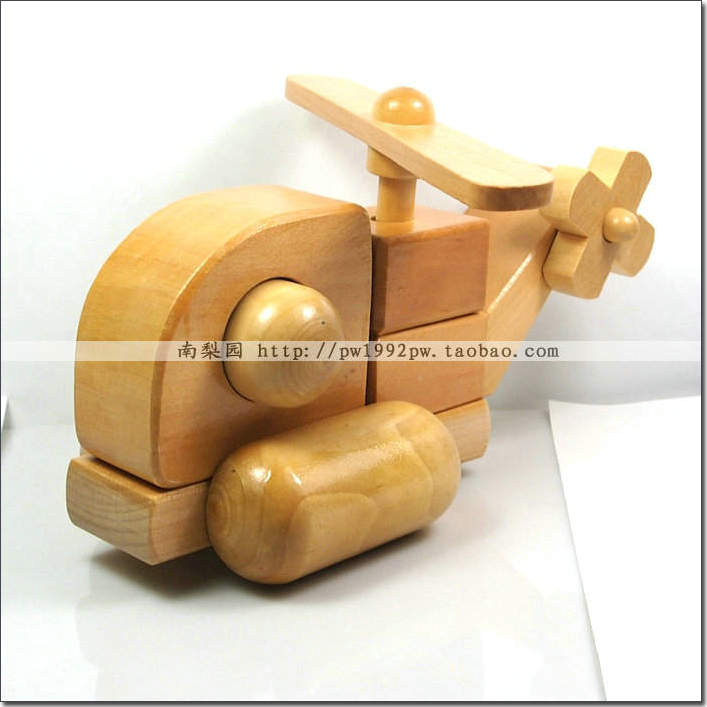 Toy building blocks jigsaw puzzle log model toy car