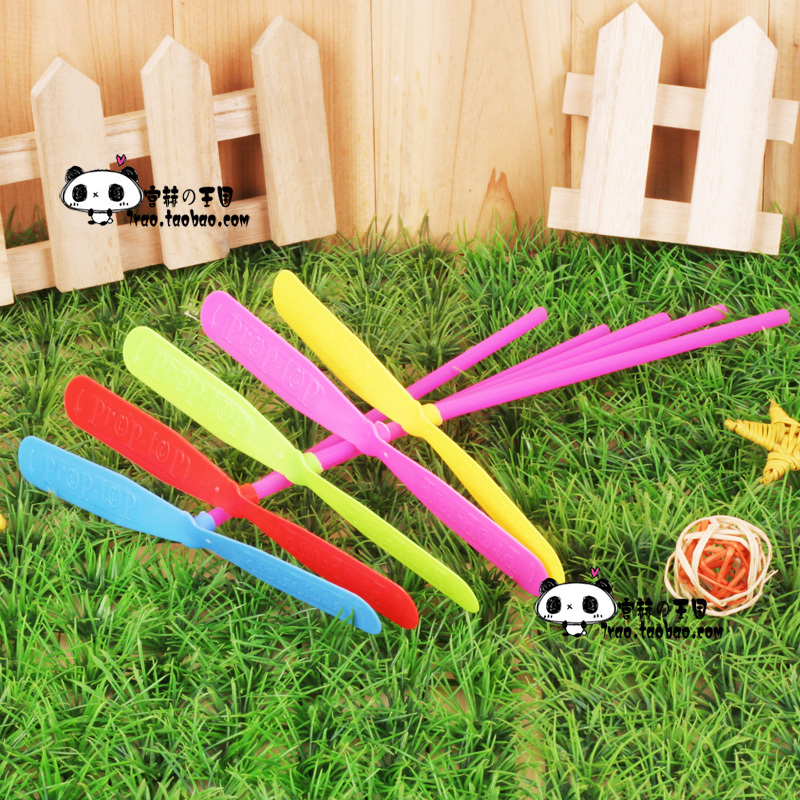 Child fun toy traditional toys plastic bamboo dragonfly
