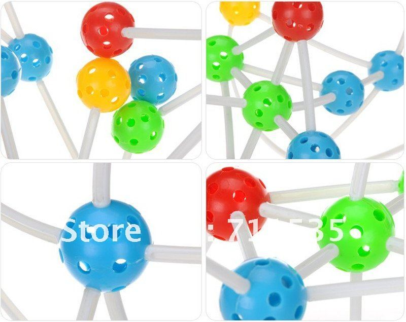 Best Christmas Gift 36pcs Plastic Pearl Children Educational toys