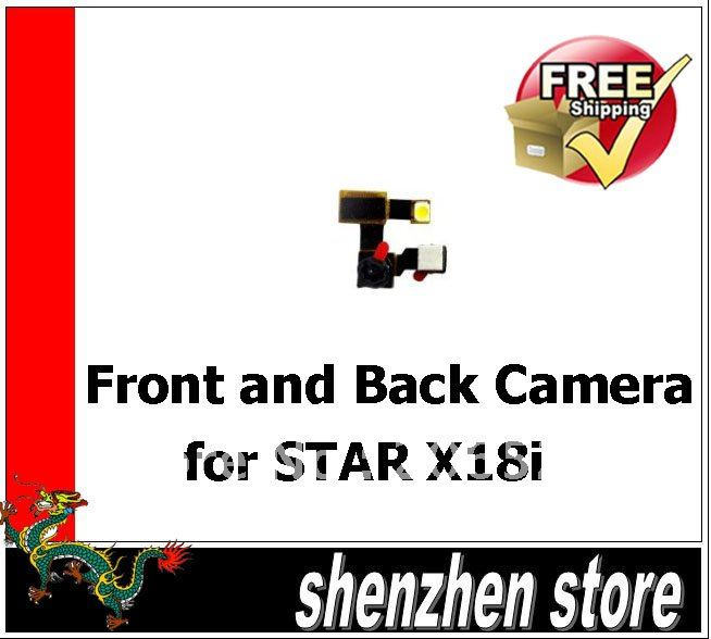 Front and Back Camera for STAR X18i China Mobile Phone Free shipping Airmail HK