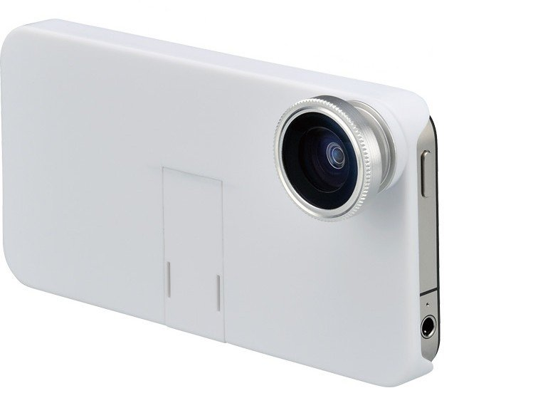 factory outlet 2012 Brand New High Quality Fish Eye Lens for iPhone 4 & 4S with case