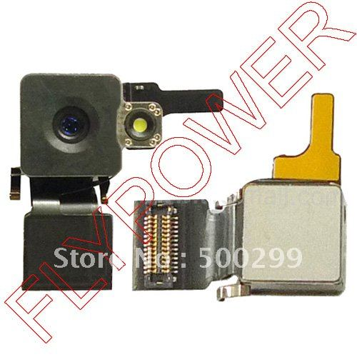 Back camera with flex for iphone 4 4g by free shipping; 10pcs/lot