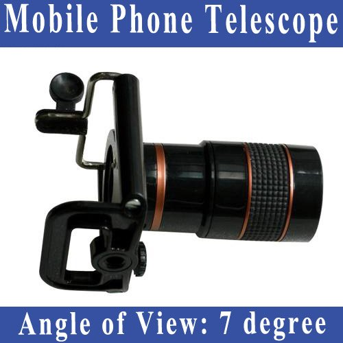 Free Shipping Universal Mobile Phone Telescope for mobile phones For Universal Mobile