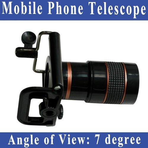 Free Shipping Universal Mobile Phone Telescope for mobile phones For Universal Mobile