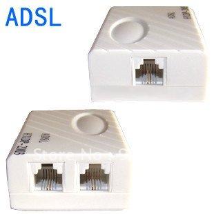 ADSL Modem Broadband Phone Line Filter Splitter 02