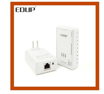 Clear stock ! 200Mbps Home Plug Ethernet EP-PLC5506 Wireless HomePlug AV Mini Ethernet Bridge Powerline 200 Mbps AC Wiring