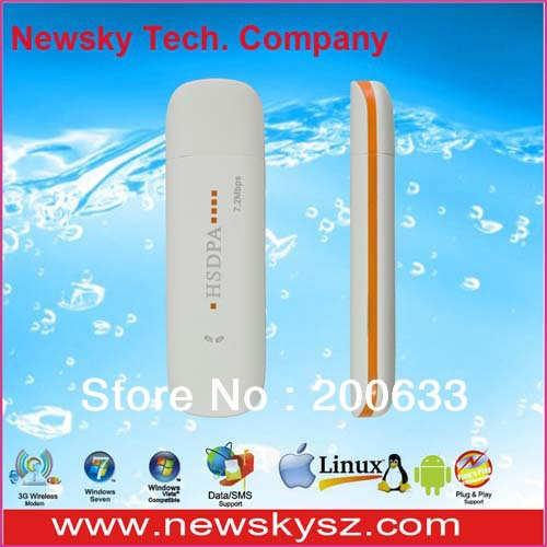 7.2Mbps High Speed Qualcomm MSM6280 3 G Modem DM6344U For PC Laptop Android Tablet Support USSD & PC Voice & TF Card