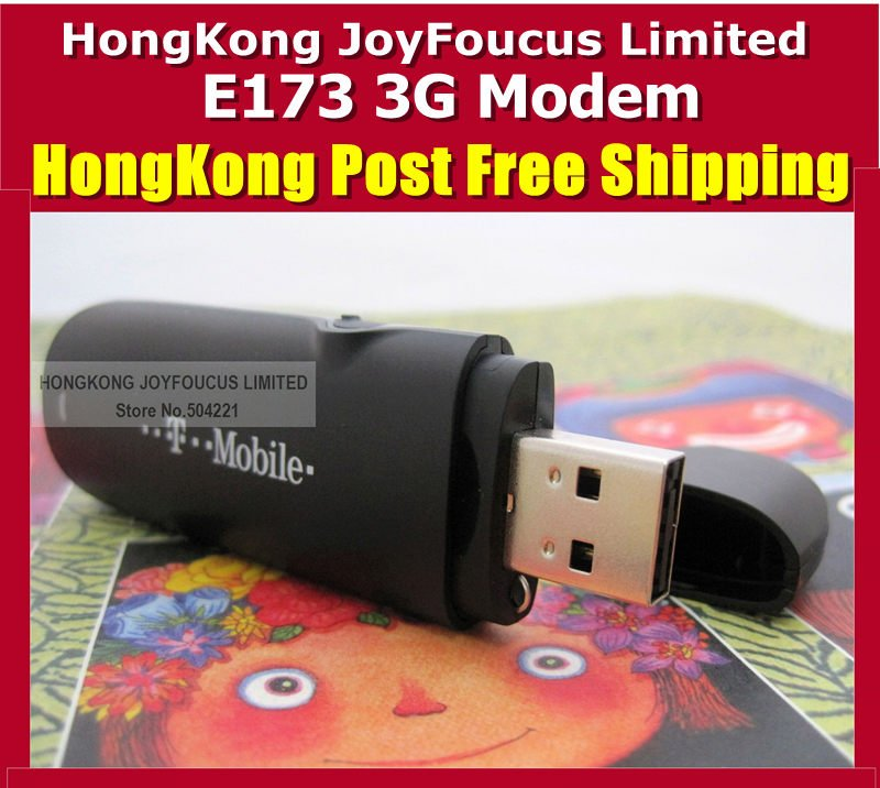 Unlocked Huawei E173 7.2M Hsdpa USB 3G Stick Modem Wholesale HongKong post Freeshipping
