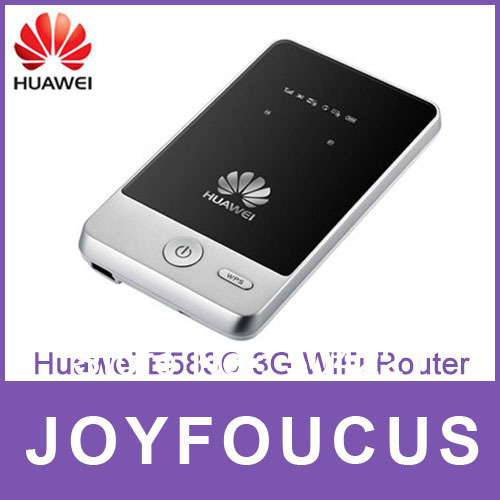 Hong Kong post air  Free shipping via China Post Air Mail,New Unlocked HUAWEI E583c mobile WIFI Modem 3G Router ,by kim