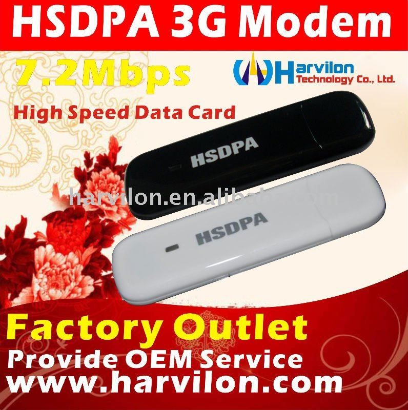 7.2Mbps Voice Function 3G HSDPA Dongle WCDMA Wireless Modem USB Data Card Aircard