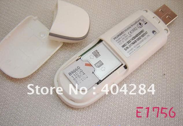 Freeshipping good seller 3.5G modem E1756C Hsupa 7.2M Modem Wholesale and Retail