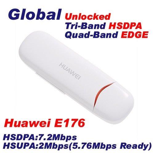 Huawei E176 7.2Mbps USB Hsdpa 3G Wireless Modem free shipping