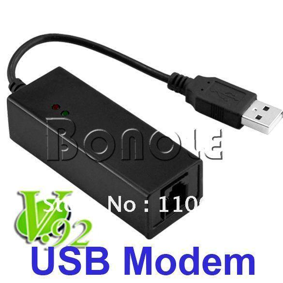 USB Fax Modem 56K Data Fax Voice USB Modem V.92 V.90 Dial Up Conexant for xp vista win7 +Free shipping