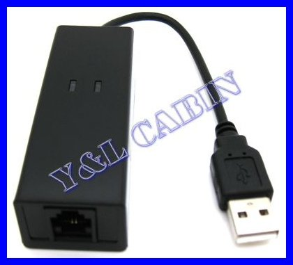 External USB 2.0 USB2.0 3 in 1 Data Fax Voice Dial Up Modem 56K V.92 V.90 CX93010 WIN7 WIN 7, Receive Send Fax on Your Computer