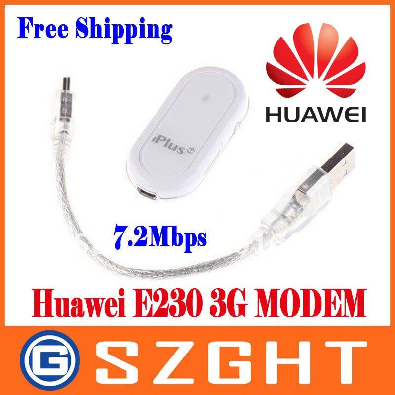Unlocked HUAWEI E230 HSDPA USB 3G Modem 7.2Mbps Free Shipping
