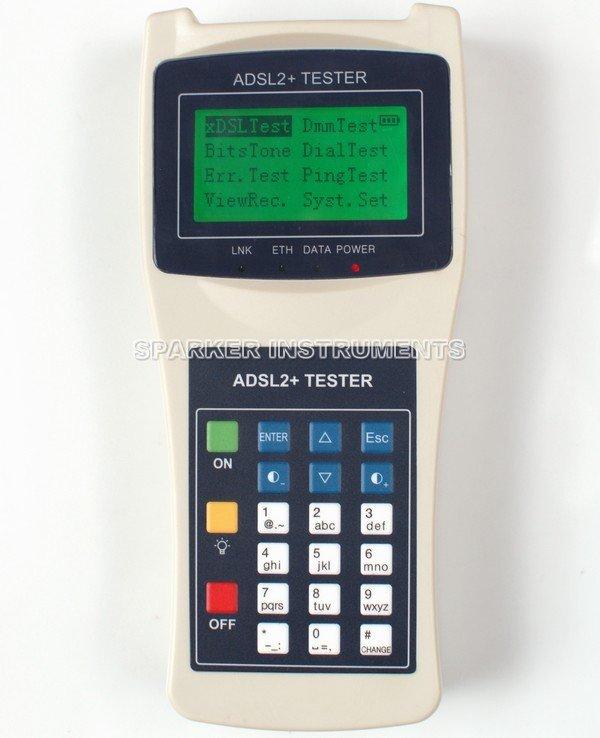 ADSL ADSL2+ XDSLTester Line Tester Network Cable PING Test Meter RS232