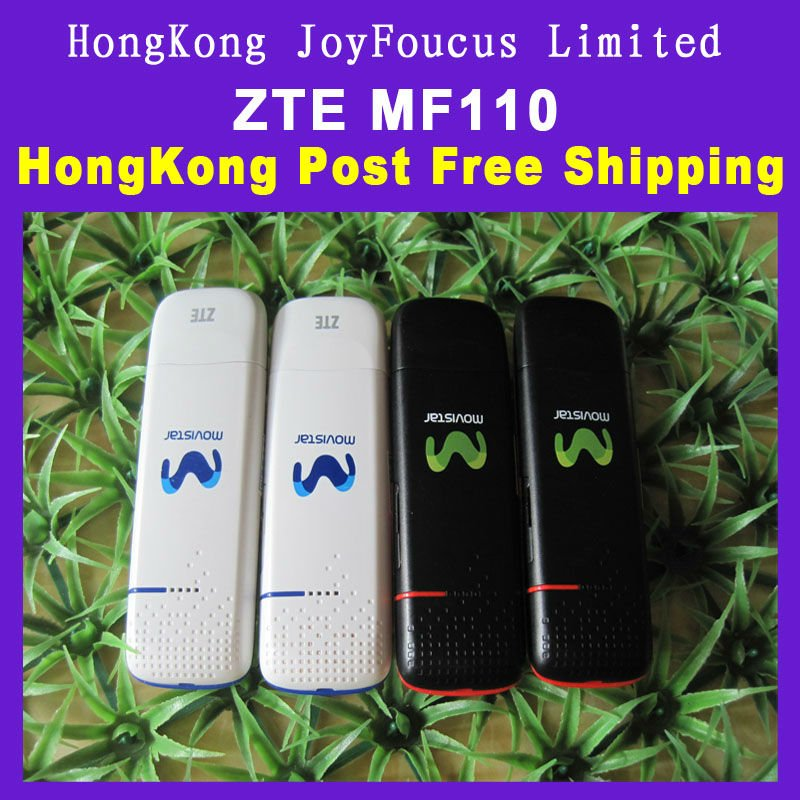 Promotion Supplier of ZTE MF110 USB Modem HSDPA wholesale 7.2Mbps Support Micro SD Card,5.76Mbps,Win7/XP/Vista/ Mac OS
