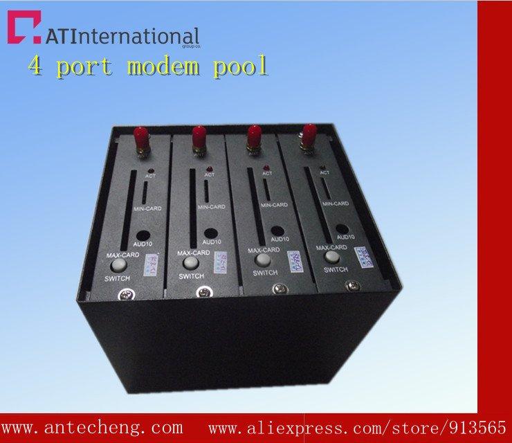 4 port  wavecom modem pool Q2406 900/1800 mhz
