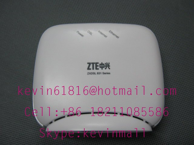 ZTE ZXdsl one port ADSL Modem 831BII or 831II broadband high speed