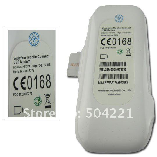 Free shipping via HONGkong Post Air Mail,5pcs/lot,Unlocked 3G USB Modem Huawei E272,7,2Mbps,HSDPA/HSUPA/UMTS/EDGE/GPRS/GSM