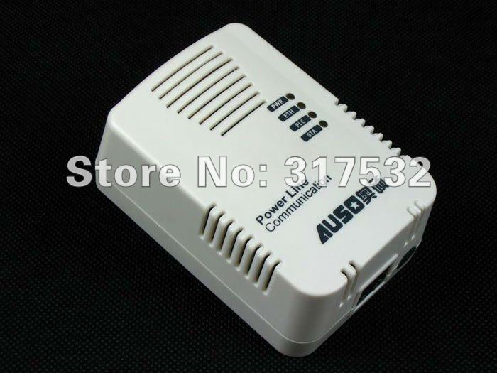 Free shipping power line communication network adapter 200Mbps homeplug ethernet bridge 2pcs/pair