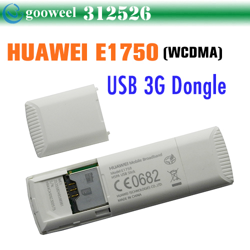 Huawei E1750 WCDMA 3G USB Wireless Modem Dongle Adapter SIM TF Card HSDPA EDGE GPRS Android System Support Free Shipping
