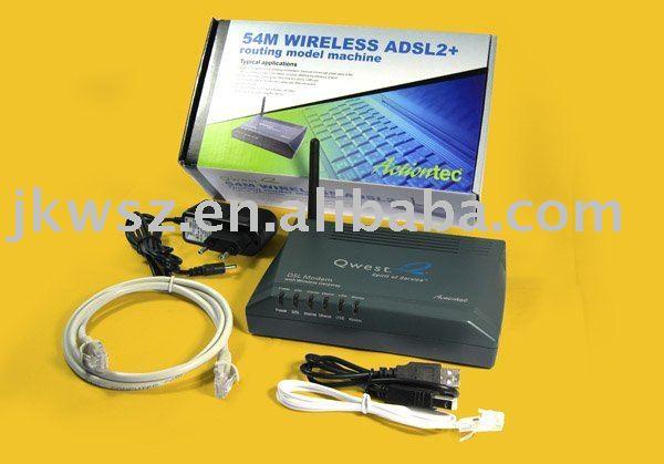 Actiontec GT701-WG 54M ADSL Modem Wifi Gateway Wireless Router wireless adsl modem Free Shipping