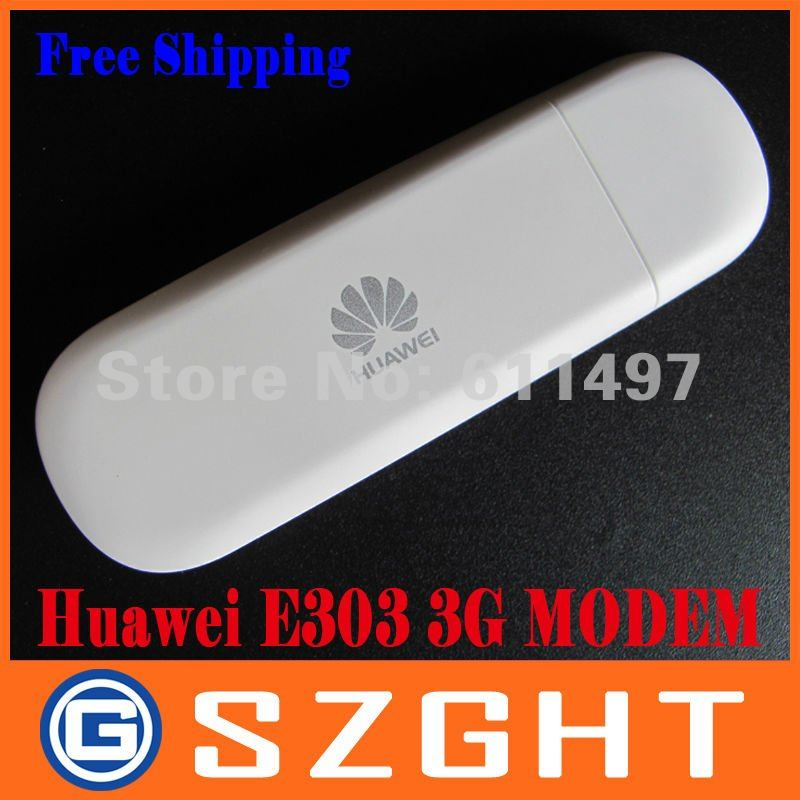 Unlocked E303 Huawei USB Modem Dongle 3G wireless modem with Free shipping