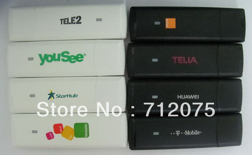 China Post Free shipping Huawei E1750 3G wireless Modem network card HSDPA 7.2M unlocked andriod tablet  android system