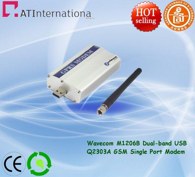 GSM Modem M1206B Wavecom Q2303A For bulk SMS Sending Free Software & Professinal Training